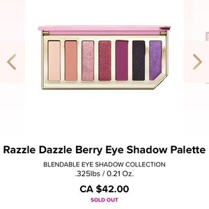 Too Faced Razzle Dazzle Berry Palette